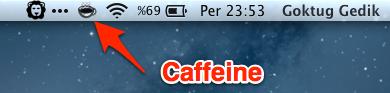 sihirli elma wimoweh caffeine 7 Macimizi uyutmamak için Wimoweh