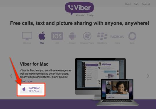 sihirli elma viber mac 6 Viberı artık Macte de kullanabiliyoruz!