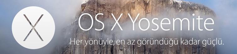 OS X Yosemite Mac App Store'da!