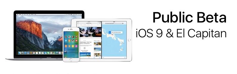 iOS 9 ve El Capitan için Açık Beta Programı Başladı