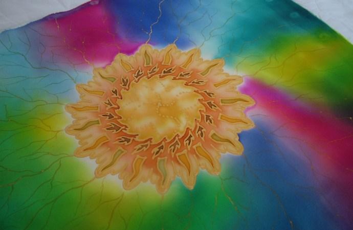rainbow mandala fionastolze silkandart