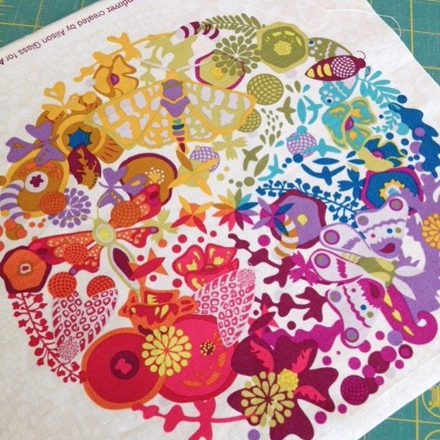 Love love this alisonglass print agfabric andoverfabrics it just makeshellip