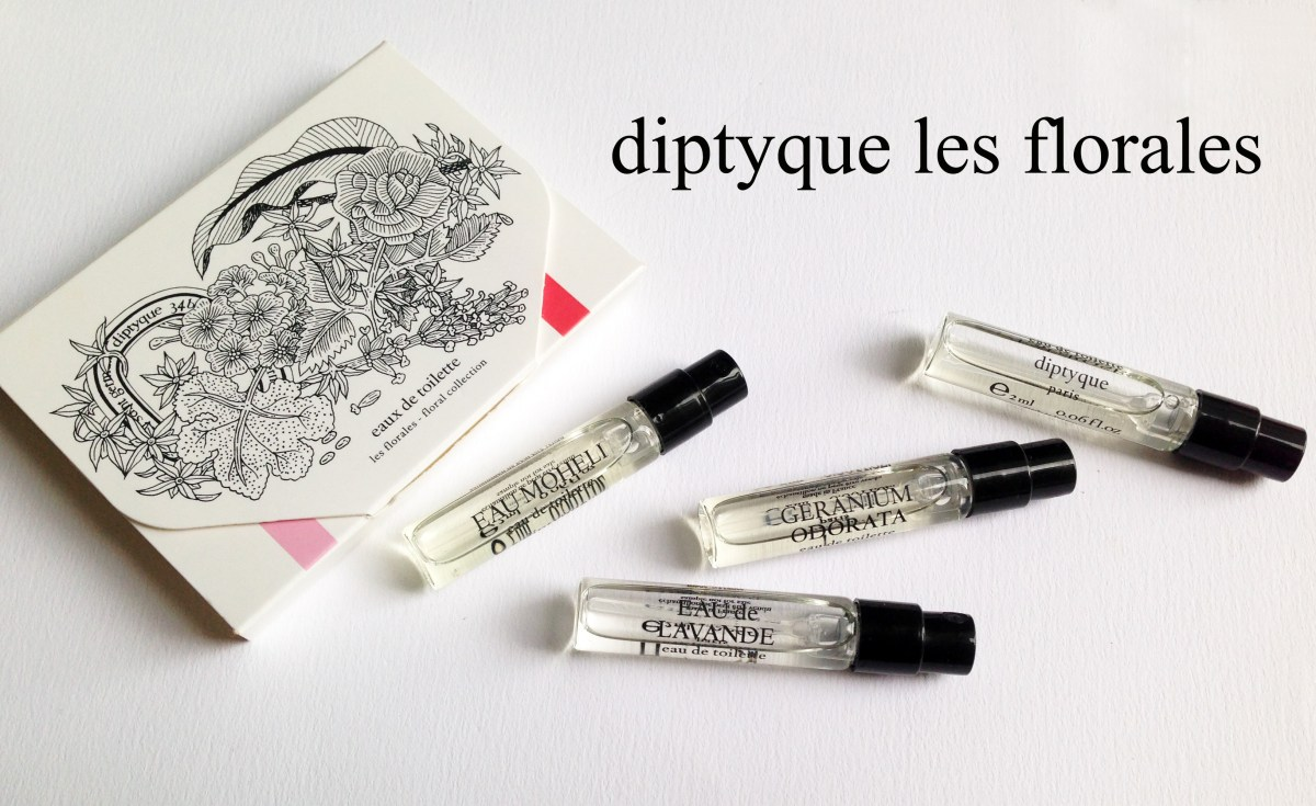 Strolling through Diptyque's Les Florales Collection