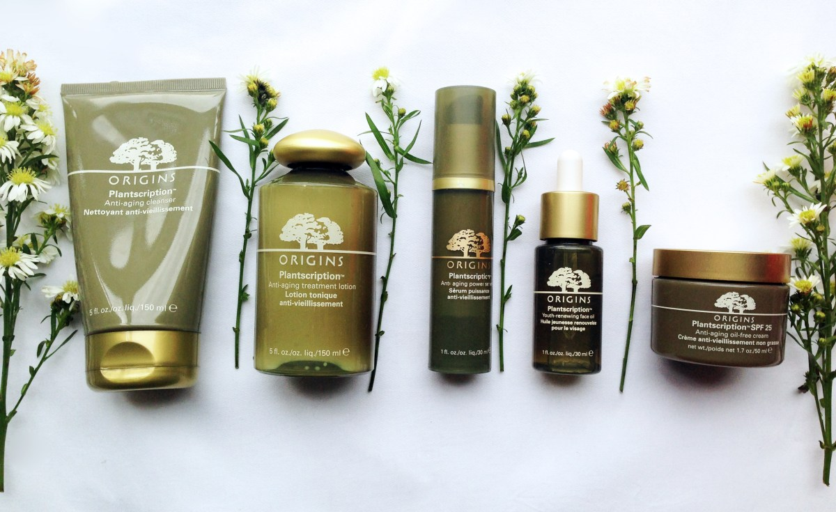 Revisiting the New Origins Plantscription™  Anti-aging Skincare Collection