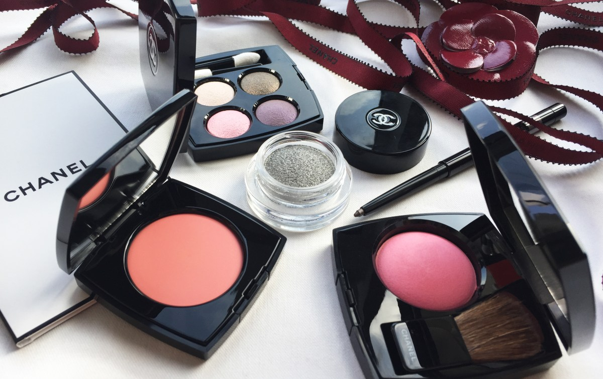 A Soft, Pretty Ballerina From La Perle de Chanel Collection for Spring 2015
