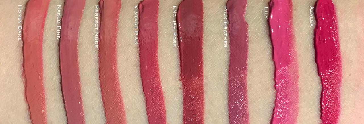 Bobbi Brown Art Stick Liquid Lip - swatches part 1