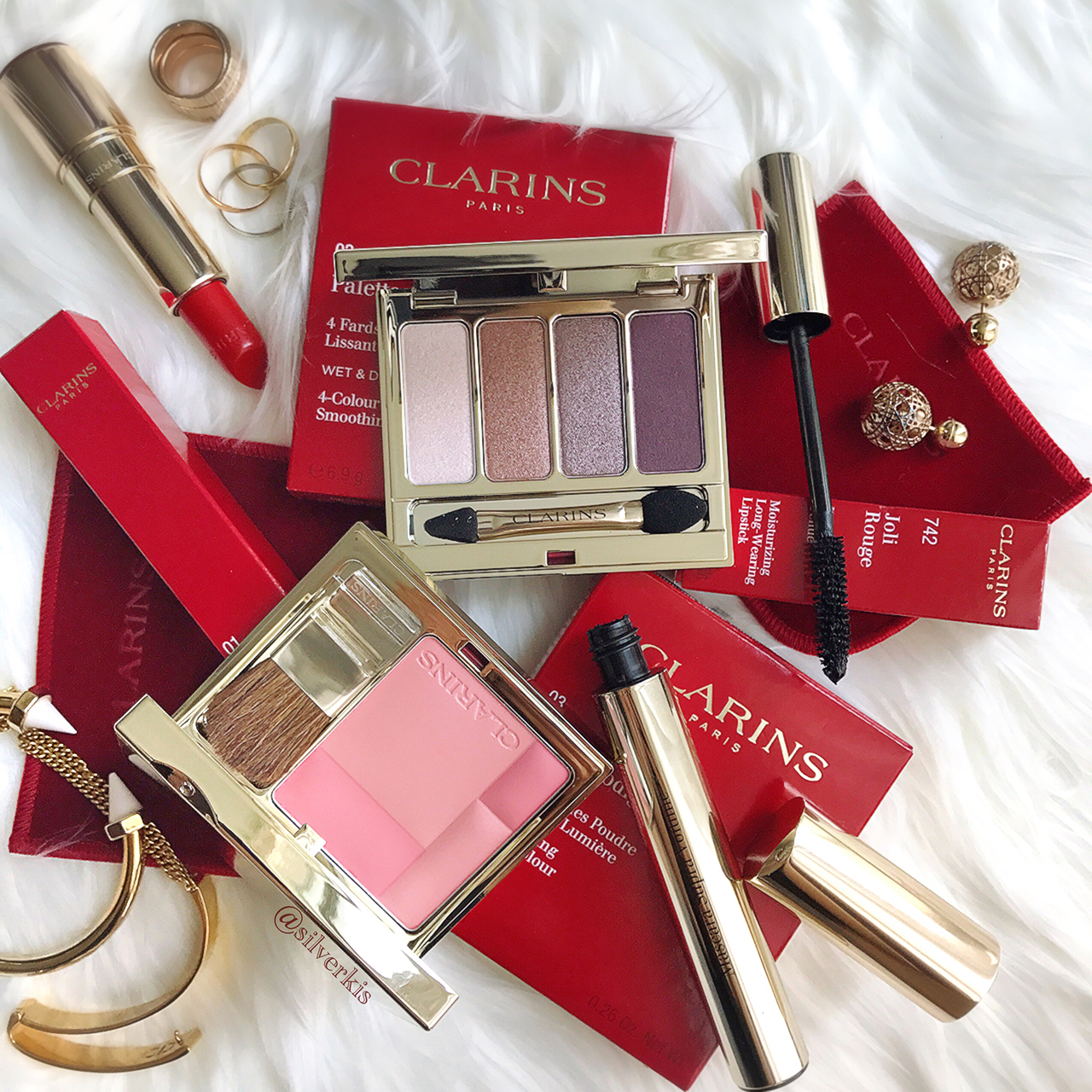 Clarins makeup picks