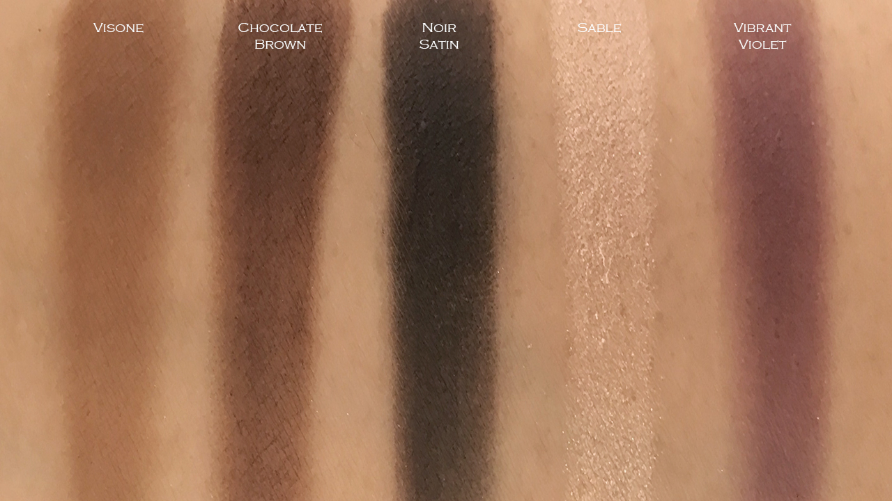 Chanel Ombre Premiere Longwear Powder Eyeshadow swatches 22-30