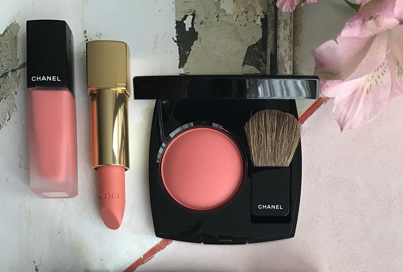Chanel Joues Contraste Foschia Rosa