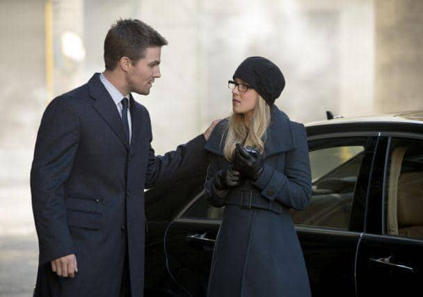 Oliver and Felicity in Russia. Photo: CW