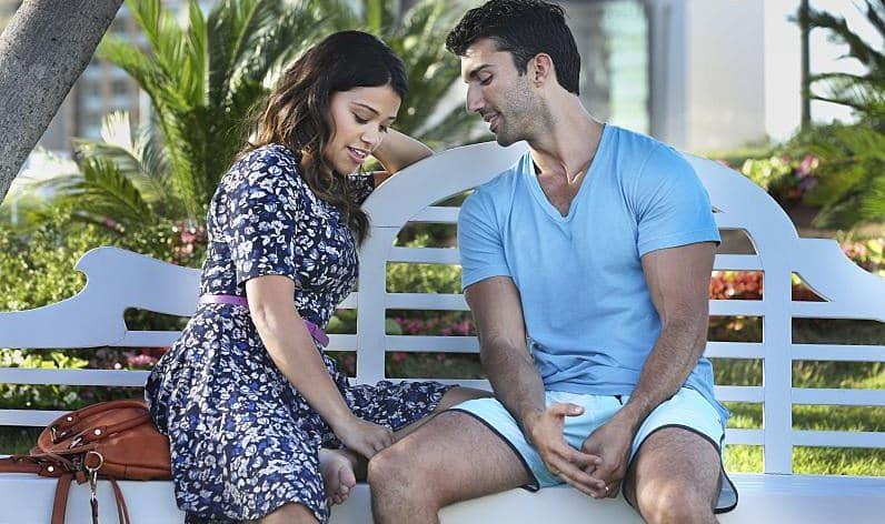 Jane and Rafael bench talk promo image