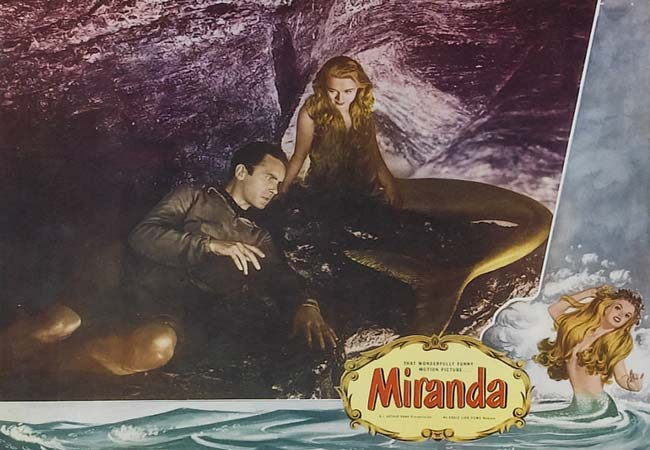 Man Cave Miranda : Vintage film review miranda a hilarious mermaid