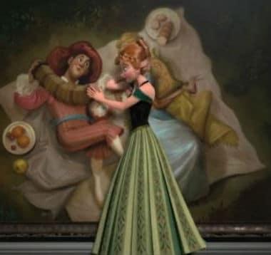 Anna's Green Dress Photo: Disney