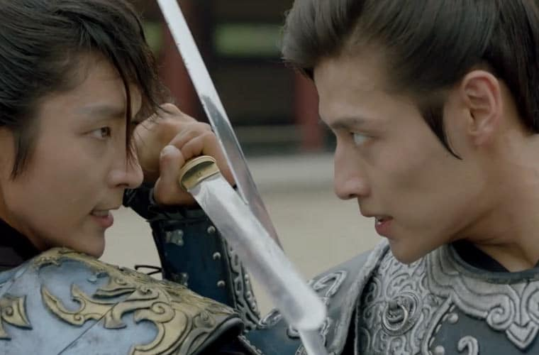 princes-fight-moon-lovers Scarlet Heart Ryeo Episode 12 & 13 Recap