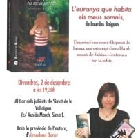 """""""L'estranya que habita els meus somnis"""" de @LBoigues #Simat #Valldigna @BullentEdicions"""