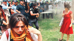 istanbul riot red dress