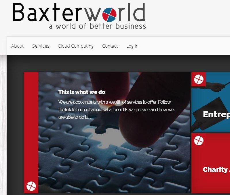 Baxterworld Web Design