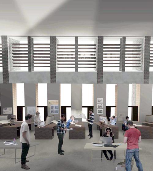 Architecture School 3D Modelling