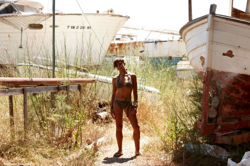 Abandoned boat yard, not Scooby Doo style at all!
