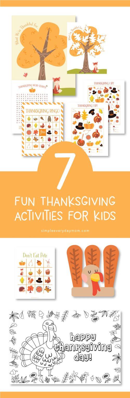 Medium Of Thanksgiving Games For Kids