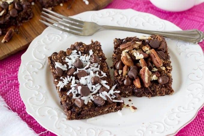 breakfast brownies - SimpleHealthyKitchen.com