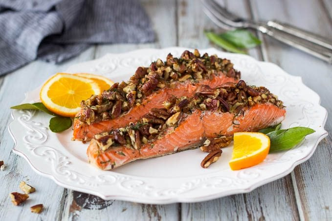 oven-baked-pecan-crusted-salmon featured 3