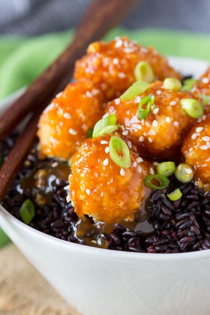 baked-orange-cauliflower-forbidden-rice 3