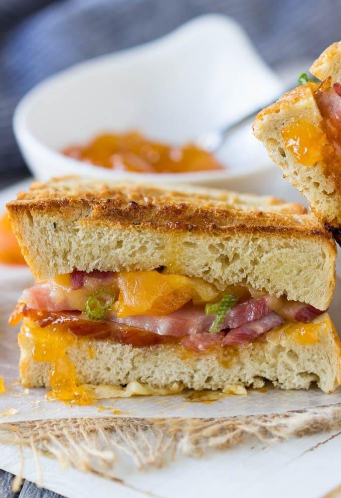 smoked-gouda-ham-apricot-panini 4