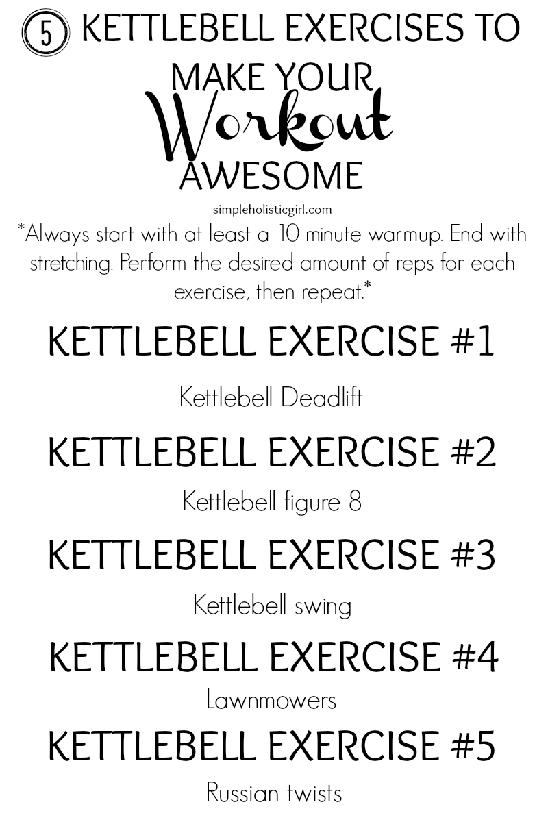 5 Kettlebell Exercises to Make Your Workout Awesome - The SHG Blog