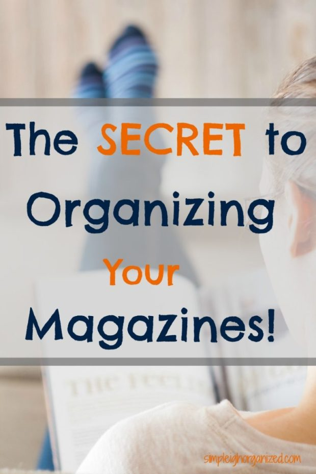 The best way to Organize your magazines