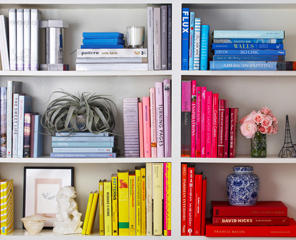 organize your bookcase