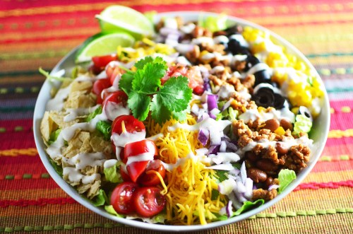 Swish You Know When You Have A Meal That Is So You S Thinkingabout Even Next Day Many Thinking About How Muchyou Turkey Taco Salad Savory Ground Turkey Tacos Nutrition Ground Turkey Tacos Martha Stewa