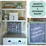 collage magnetic chalkboard instagram gallery