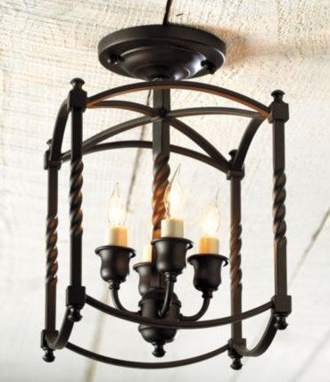 Ballard Designs Carriage House Small Chandelier