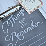 {Things to Remember}: Chalkboard Clipboard Teacher's Gift