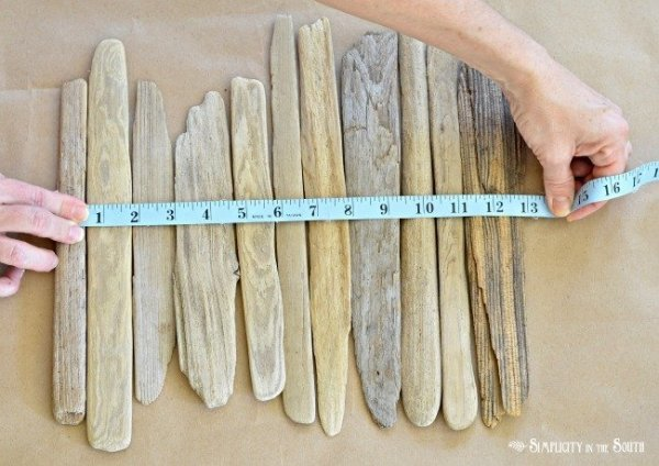 driftwood vase tutorial