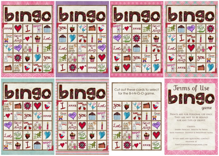 Free Printable Valentines Day Bingo.10 Candy Bar Valentines Day Card 2014