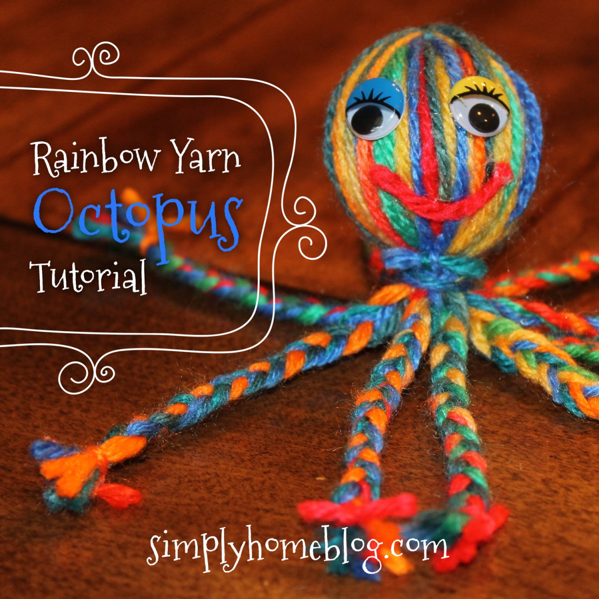 Yarn Octopus Tutorial