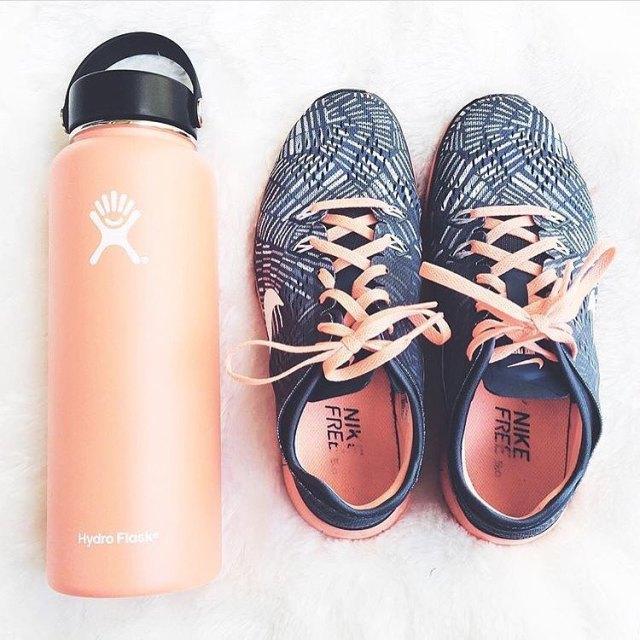 When my shoes match my water bottle simplyleopard nike hydroflasknbspReadhellip