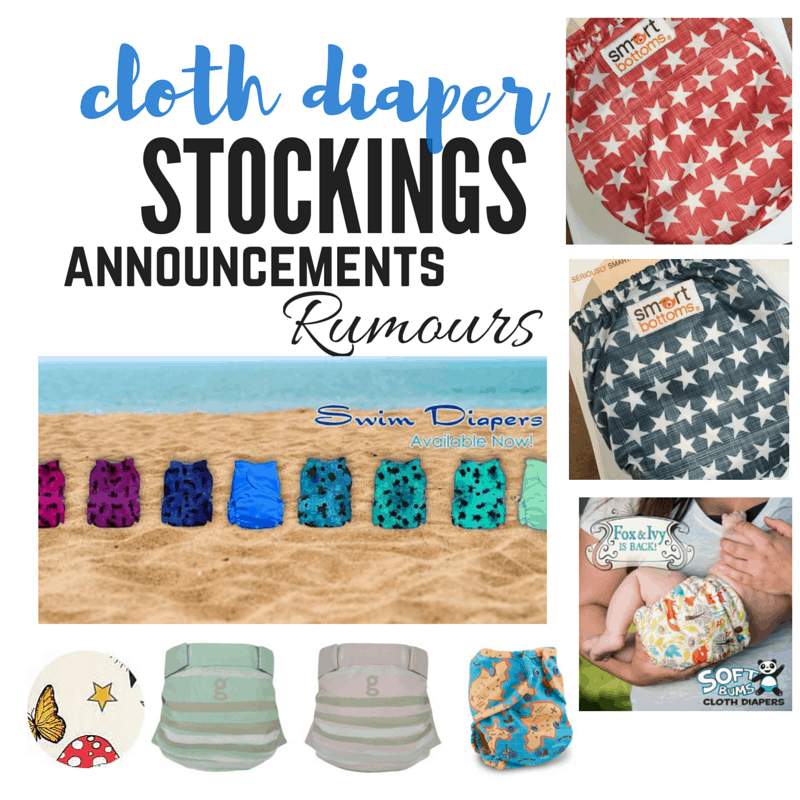 Cloth Diaper Releases June 3, 2016