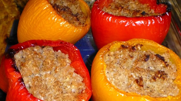 Cabbage Stuffed Peppers