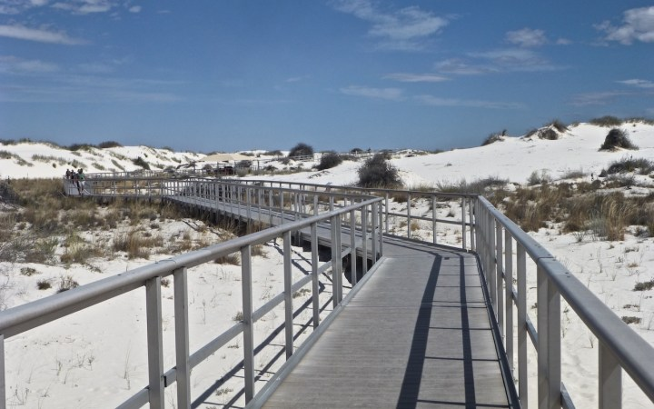 Interdune Boardwalk, White Sands National Park, New Mexico