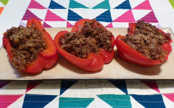Paleo Stuffed Bell Pepper