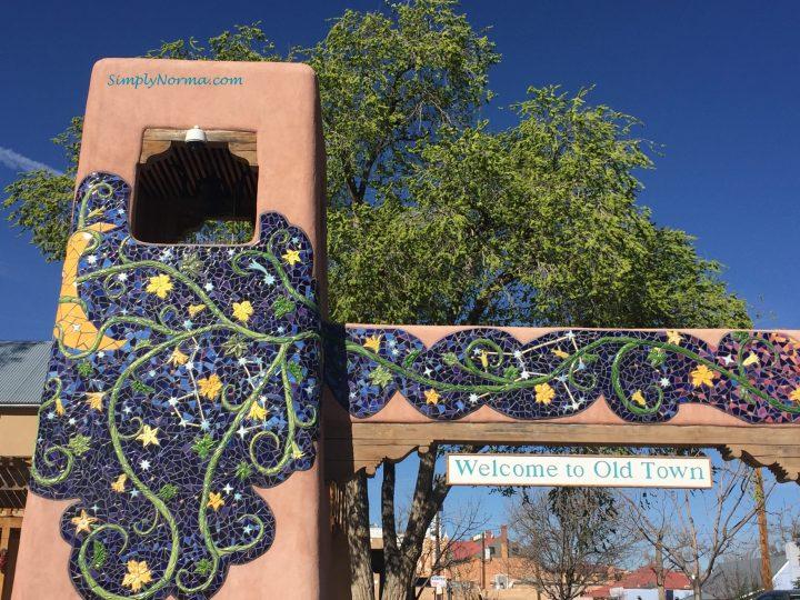 Old Town Albuquerque Entrance