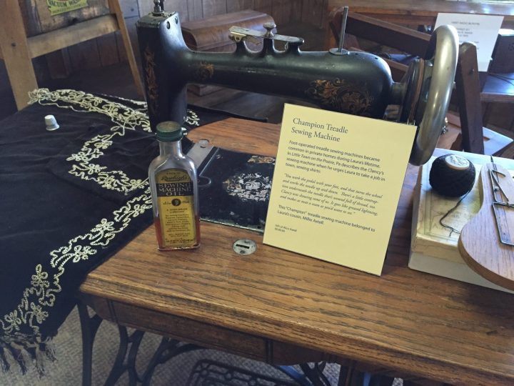 Champion Treadle Sewing Machine