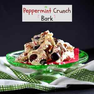 Peppermint Crunch Bark is a party in a pan. White chocolate, Peppermint Crunch candy peppermints & pretzels. Once you taste it, you'll want to celebrate. Simply Sated