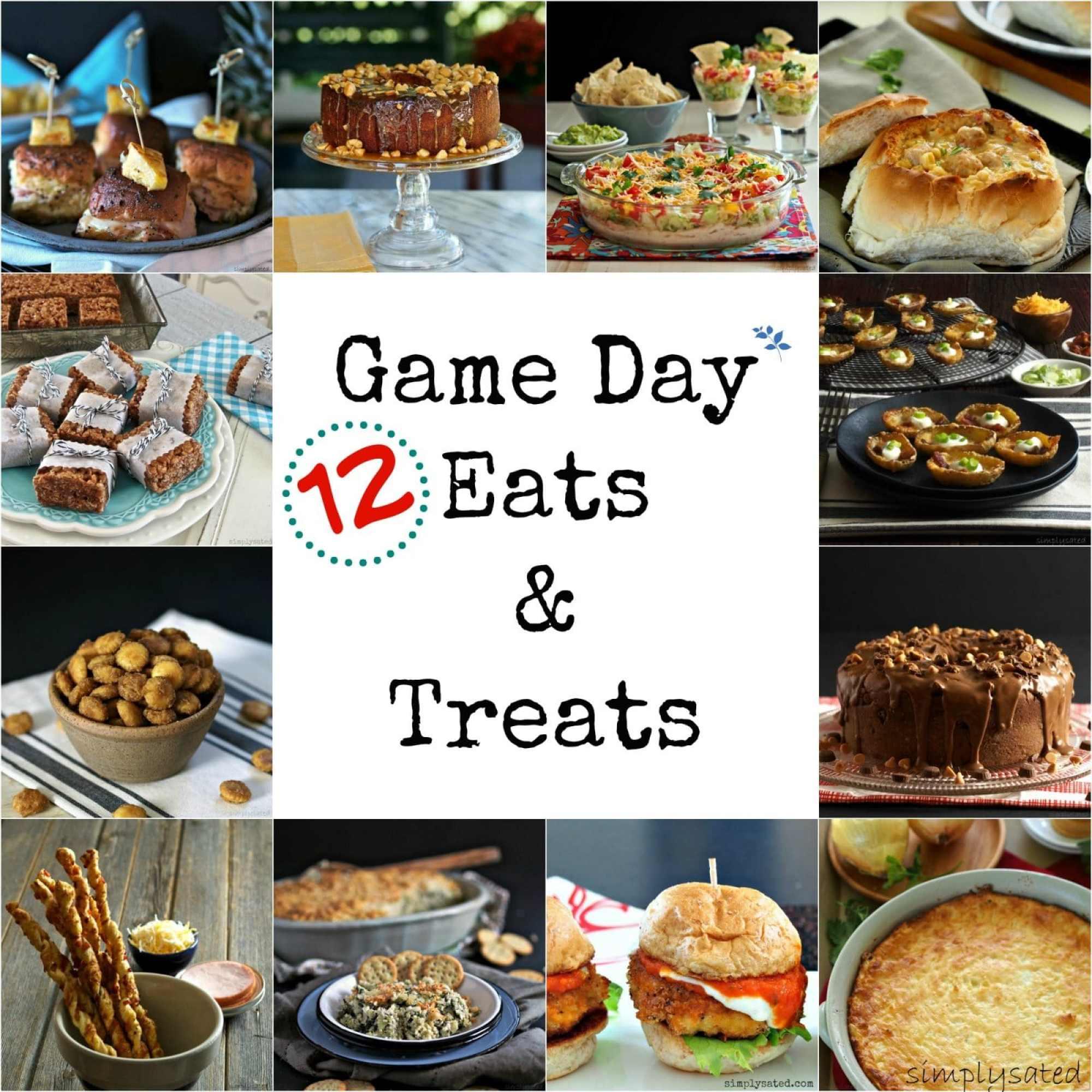 Game Day Eats & Treats
