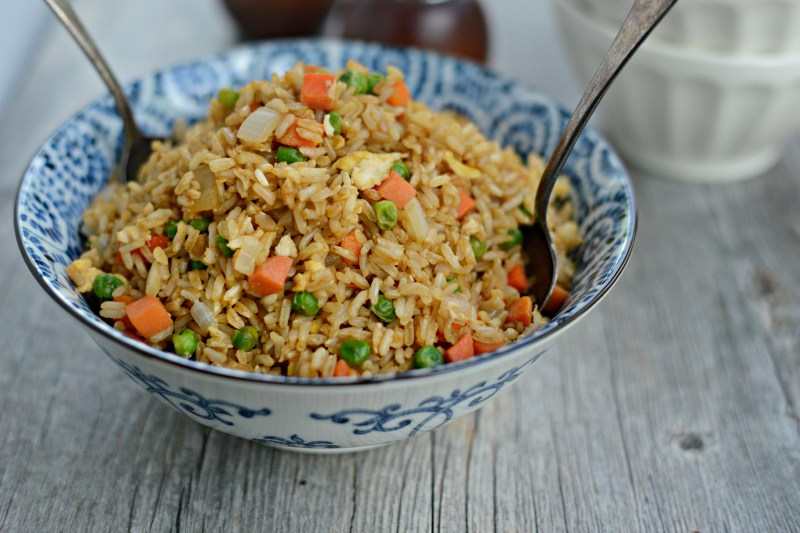 Large Of Steak Fried Rice