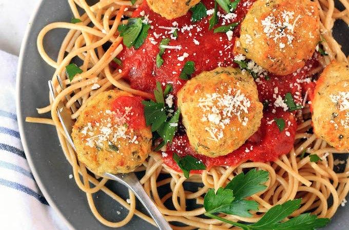 Italian Chicken Meatballs (Low-Carb, GF)