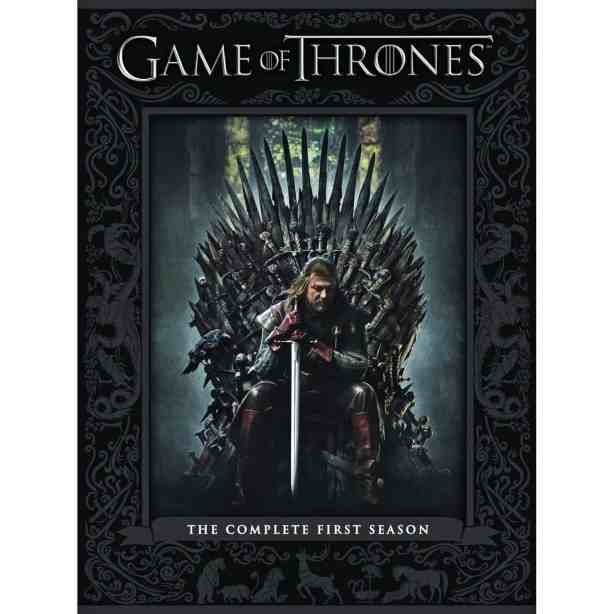 Game of Thrones on DVD